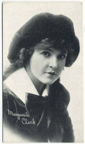 1917 Marguerite Clark 3x5 Theatrical Advertising Co. Card