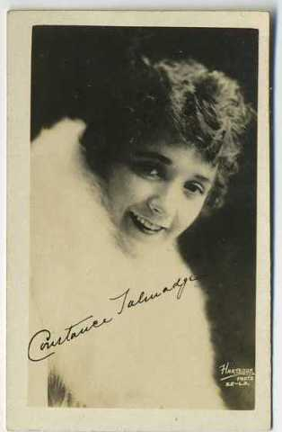 Constance Talmadge Real Photo Card