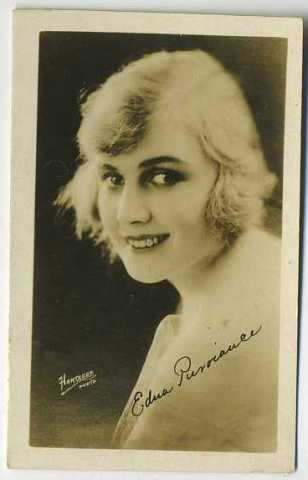 Edna Purviance Real Photo Card