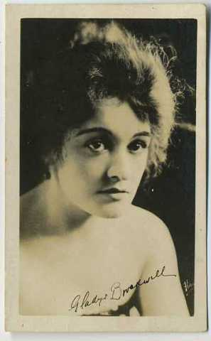 Gladys Brockwell Real Photo Card
