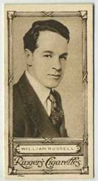 William Russell - 1923 Ringers Cigarettes Tobacco Card