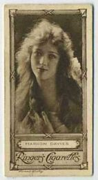 Marion Davies - 1923 Ringers Cigarettes Tobacco Card