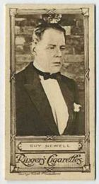 Guy Newell - 1923 Ringers Cigarettes Tobacco Card