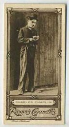 Charles Chaplin - 1923 Ringers Cigarettes Tobacco Card