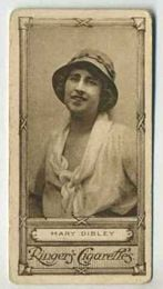 Mary Dibley - 1923 Ringers Cigarettes Tobacco Card