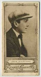 Jack Pickford - 1923 Ringers Cigarettes Tobacco Card