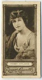 Peggy Hyland - 1923 Ringers Cigarettes Tobacco Card