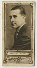 Gregory Scott - 1923 Ringers Cigarettes Tobacco Card