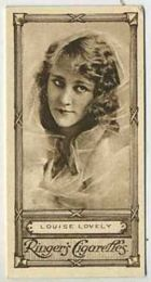 Louise Lovely - 1923 Ringers Cigarettes Tobacco Card