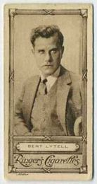 Bert Lytell - 1923 Ringers Cigarettes Tobacco Card