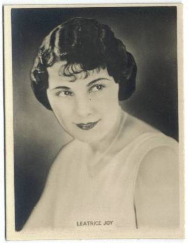 1925 Leatrice Joy Rothmans Tobacco Card