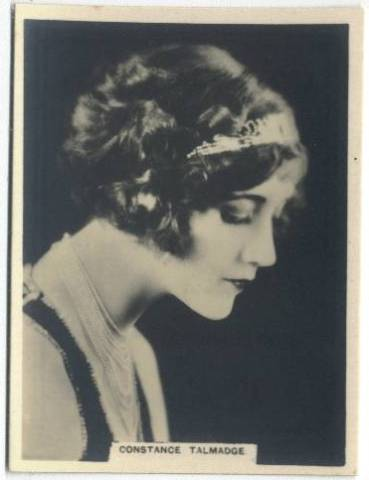 1925 Constance Talmadge Rothmans Tobacco Card