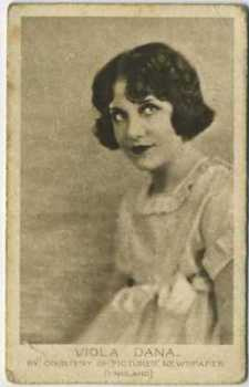 1926 Bucktrout & Co Viola Dana Tobacco Card