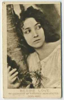 1926 Bucktrout & Co Bessie Love Tobacco Card