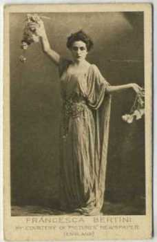 1926 Bucktrout & Co Francesca Bertini Tobacco Card