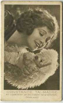 1926 Bucktrout & Co Constance Talmadge Tobacco Card