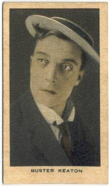 1928 Wills Buster Keaton Tobacco Card