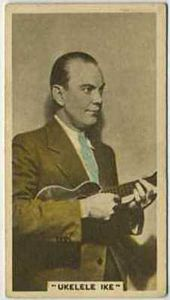 Cliff Edwards - 1934 Abdulla Tobacco Card