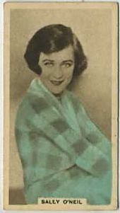 Sally O'Neil - 1934 Abdulla Tobacco Card