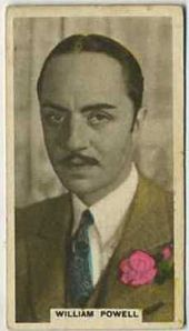 William Powell - 1934 Abdulla Tobacco Card
