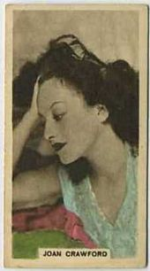 Joan Crawford - 1934 Abdulla Tobacco Card