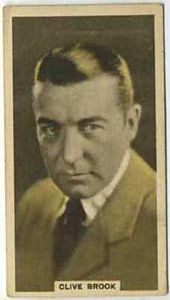 Clive Brook - 1934 Abdulla Tobacco Card