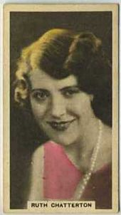 Ruth Chatterton - 1934 Abdulla Tobacco Card