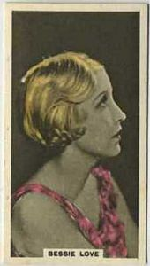 Bessie Love - 1934 Abdulla Tobacco Card