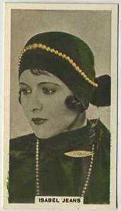 Isabel Jeans - 1934 Abdulla Tobacco Card