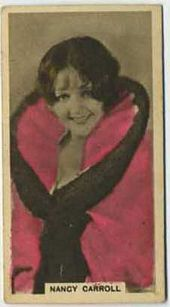 Nancy Carroll - 1934 Abdulla Tobacco Card