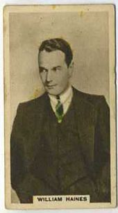 William Haines - 1934 Abdulla Tobacco Card