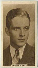 Phillips Holmes - 1933 United Kingdom Tobacco Card