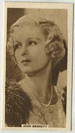 Joan Bennett - 1933 United Kingdom Tobacco Card