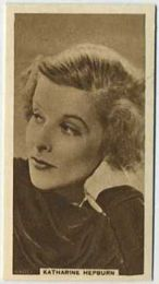 Katharine Hepburn - 1933 United Kingdom Tobacco Card