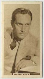 Fredric March - 1933 United Kingdom Tobacco Card