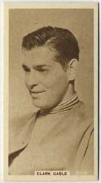 Clark Gable - 1933 United Kingdom Tobacco Card