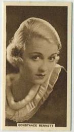 Constance Bennett - 1933 United Kingdom Tobacco Card