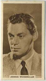 Johnnie Weissmuller - 1933 United Kingdom Tobacco Card