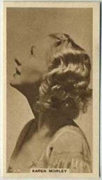 Karen Morley - 1933 United Kingdom Tobacco Card