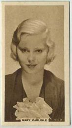 Mary Carlisle - 1933 United Kingdom Tobacco Card