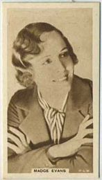 Madge Evans - 1933 United Kingdom Tobacco Card