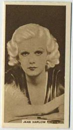 Jean Harlow - 1933 United Kingdom Tobacco Card
