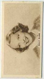 Sally Blane - 1933 United Kingdom Tobacco Card
