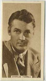 Charles Farrell - 1933 United Kingdom Tobacco Card