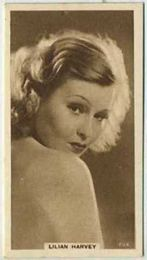 Lilian Harvey - 1933 United Kingdom Tobacco Card
