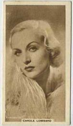 Carole Lombard - 1933 United Kingdom Tobacco Card