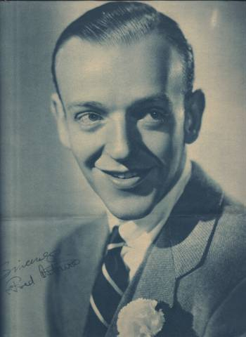 1936 Fred Astaire Philadelphia Inquirer Supplement