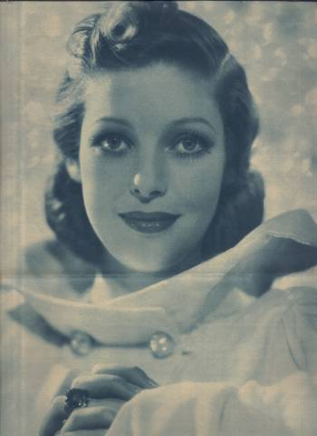 1936 Loretta Young Philadelphia Inquirer Supplement