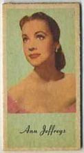 Ann Jeffreys - 1950s Engrav-o-tint Peerless Weight Machine Card