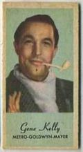 Gene Kelly - 1950s Engrav-o-tint Peerless Weight Machine Card